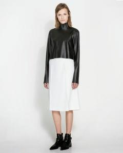 prada falda midi
