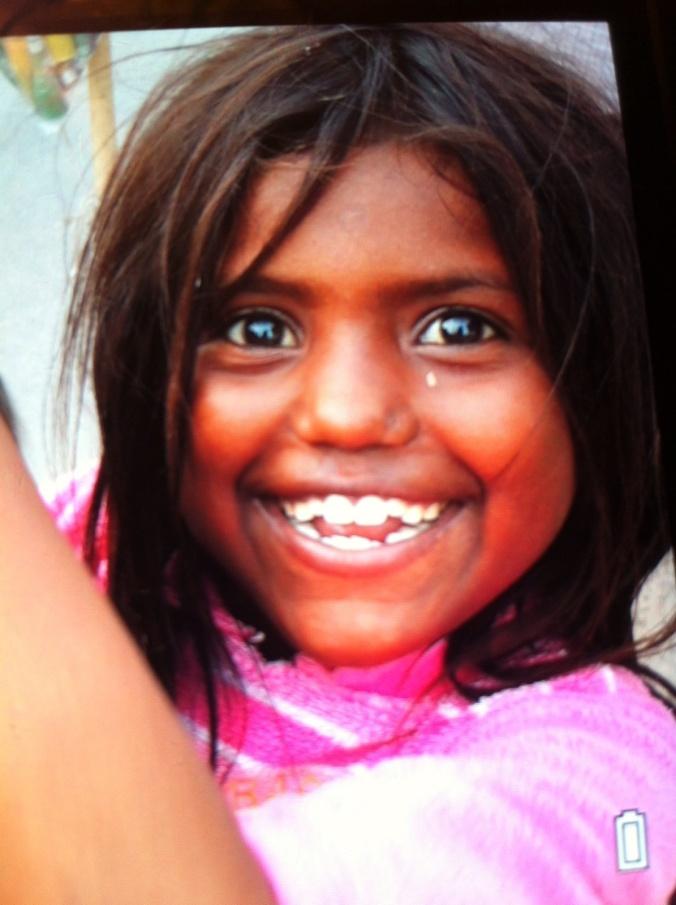 Sonrisa niña