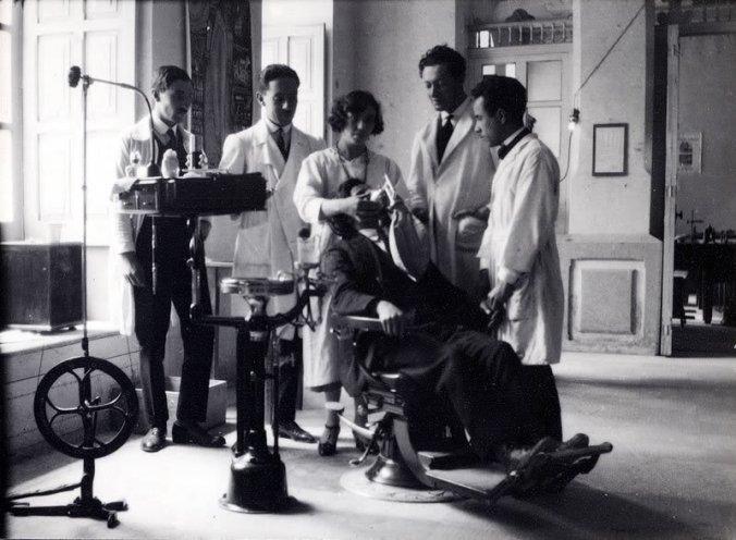 dentistas vintage
