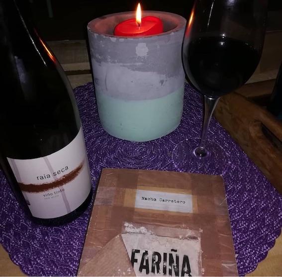 Fariña y vino